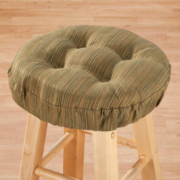 Bar Stool Cushion Round Bar Stool Cushions Kitchen  : m3431103lg from mileskimball.com size 584 x 584 jpeg 63kB