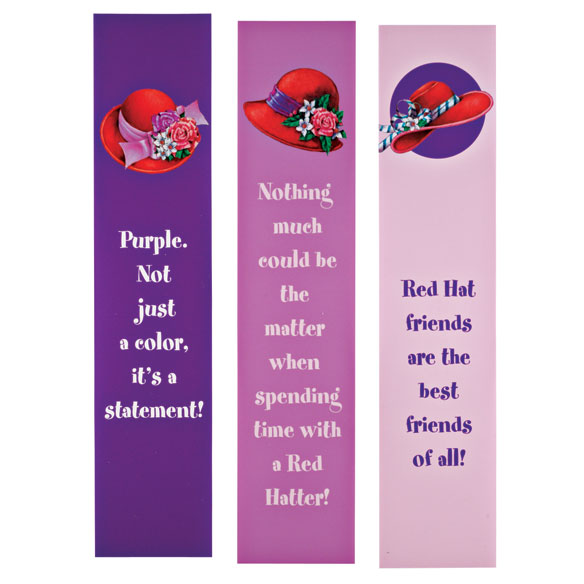 Red Hat Bookmarks & Bookplates Set - View 3