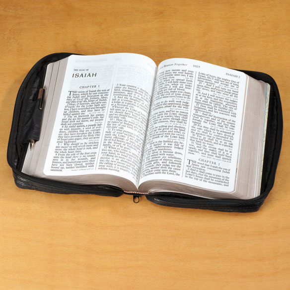 Personalized Leather Bible Case - View 2