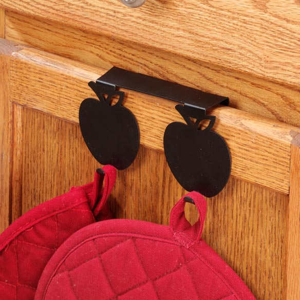 Apple Over The Cabinet Hook - View 2