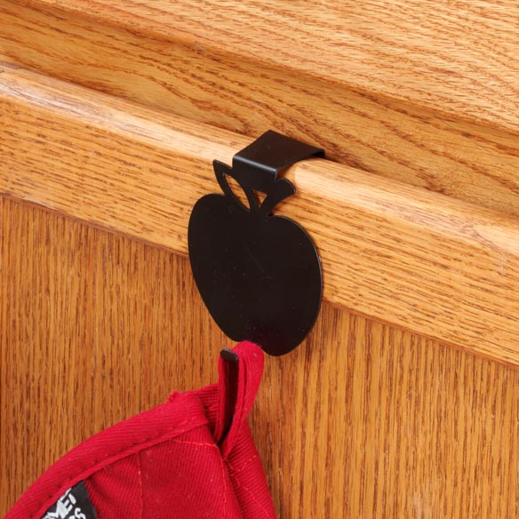 Apple Over The Cabinet Hook - View 3