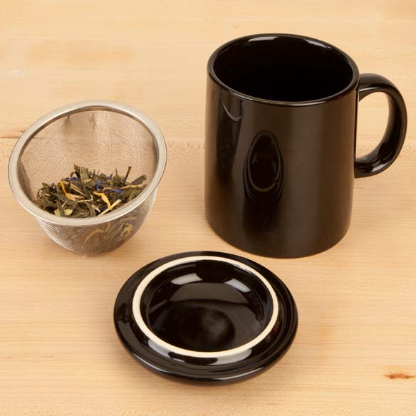 Tea Infuser Mug with Lid