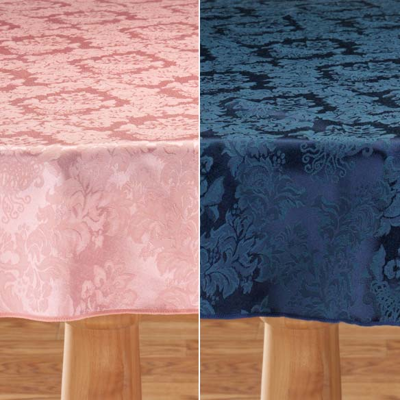 Damask Table Cover - View 4