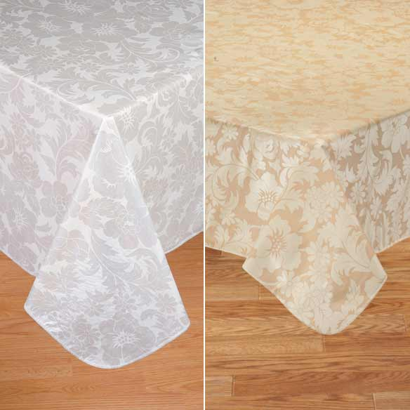 Bordeaux Vinyl Table Cover - View 3