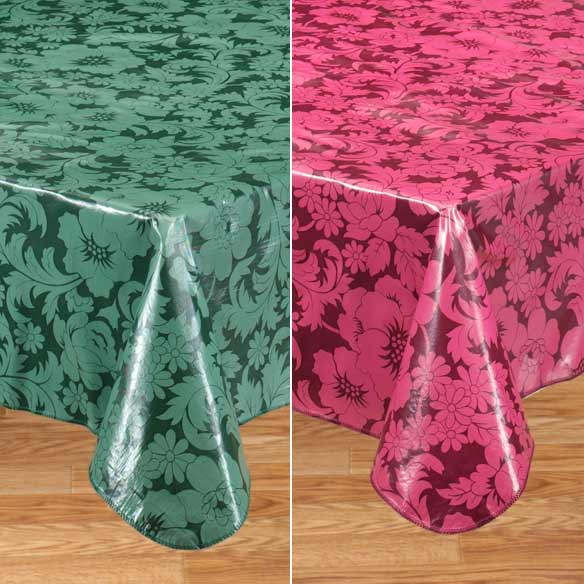 Bordeaux Vinyl Table Cover - View 5