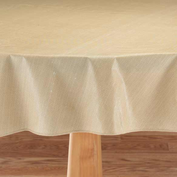 Classic Weave Vinyl Table Cover - View 3