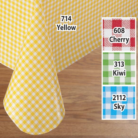 Gingham Oilcloth - View 2