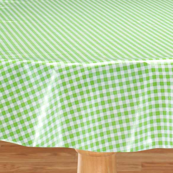 Gingham Oilcloth - View 4