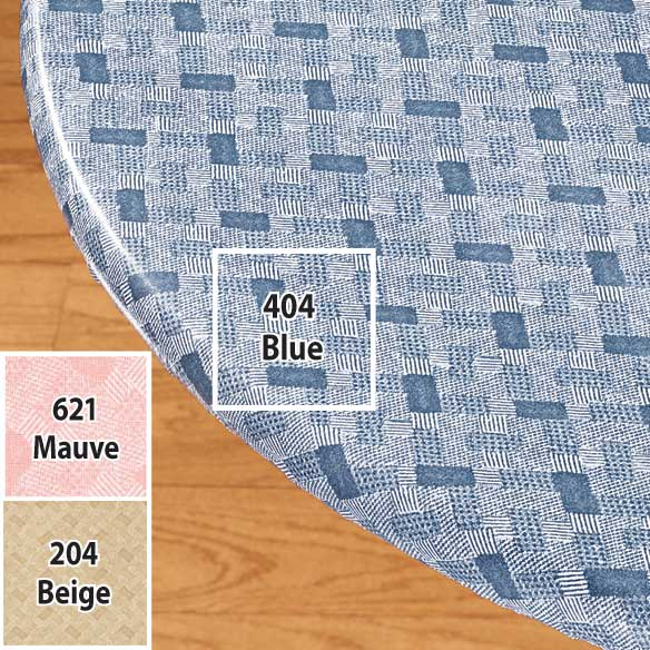 Basketweave Elasticized Table Cover - View 2