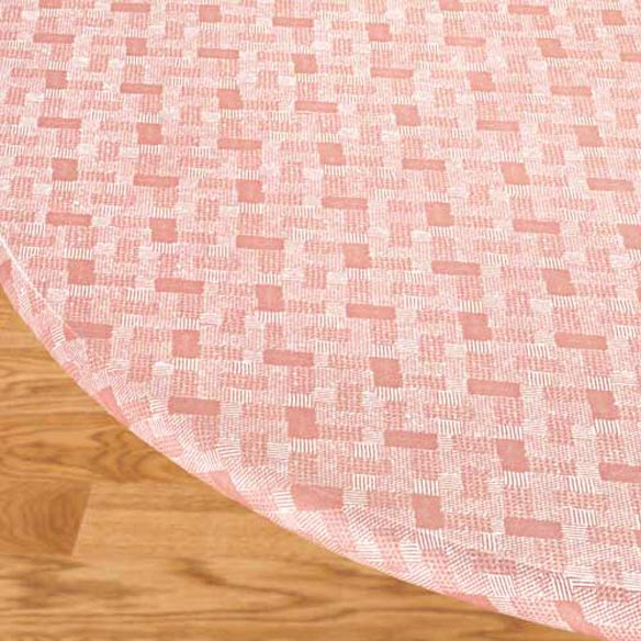 Basketweave Elasticized Table Cover - View 4