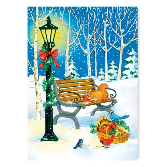Sharing the Season Unpersonalized Card Set of 20 - View 2