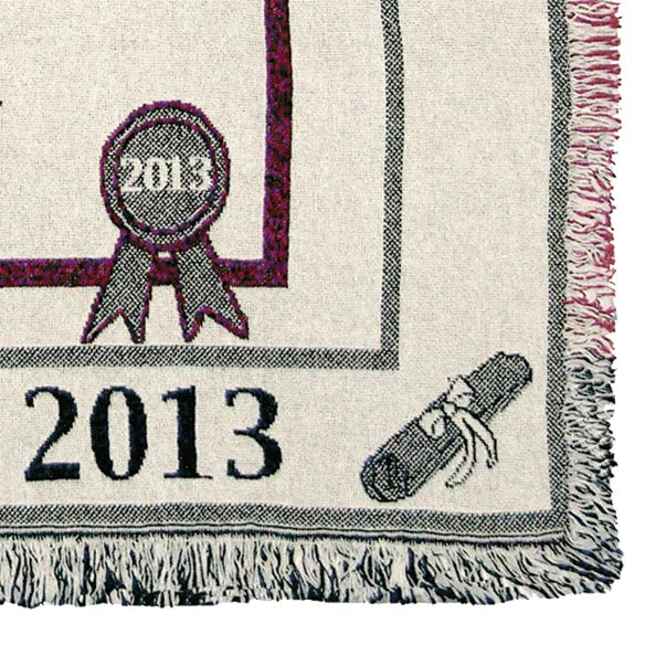 Personalized Graduation Afghans