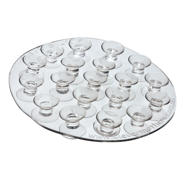 Round Suction Cup Wall Mat - View 2