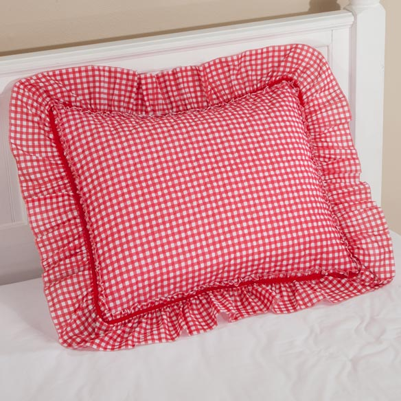 Gingham Check Sham - View 4