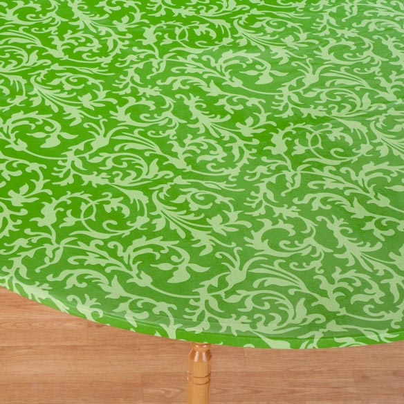 Scroll Elasticized Table Cover - View 2
