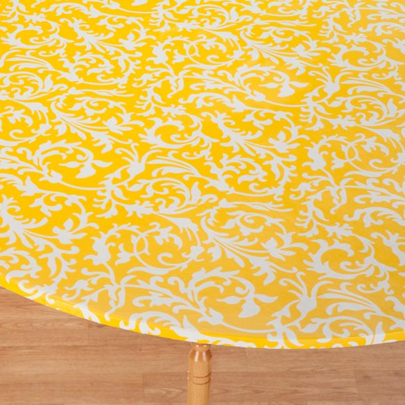 Scroll Elasticized Table Cover - View 3