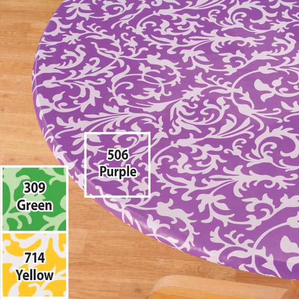 Scroll Elasticized Table Cover - View 4