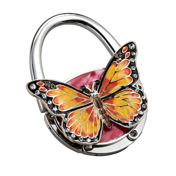 Butterfly Handbag Holder Hook - View 2