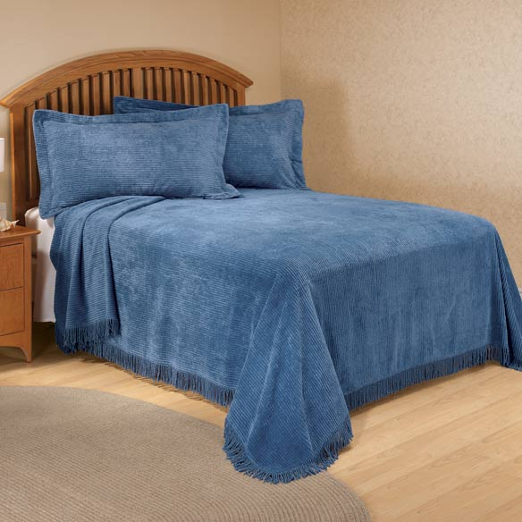 The Jane Chenille Straight Line Bedding - View 3