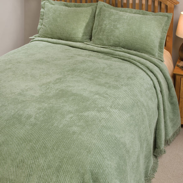 The Jane Chenille Straight Line Bedding - View 4