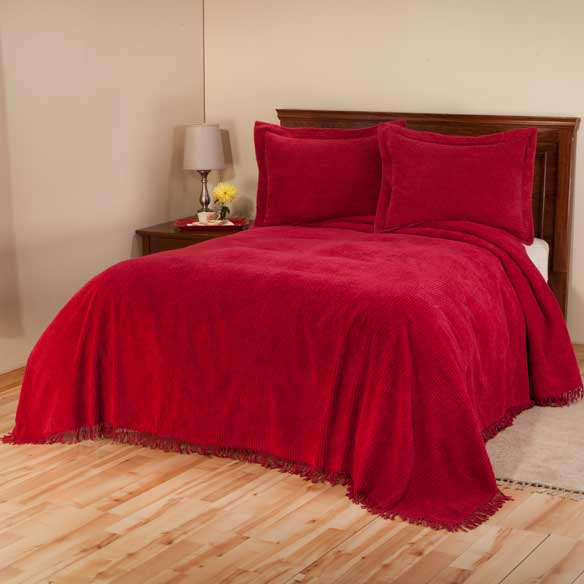 The Jane Chenille Straight Line Bedding - View 5
