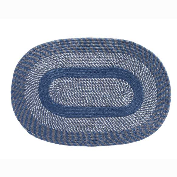 Oval Braided Rug - View 5