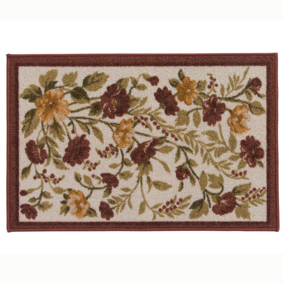 Floral Tapestry Rug - View 2