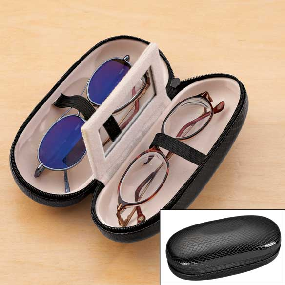 Double Eyeglass Case - View 3