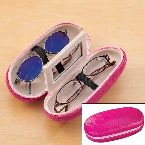 Double Eyeglass Case - View 4