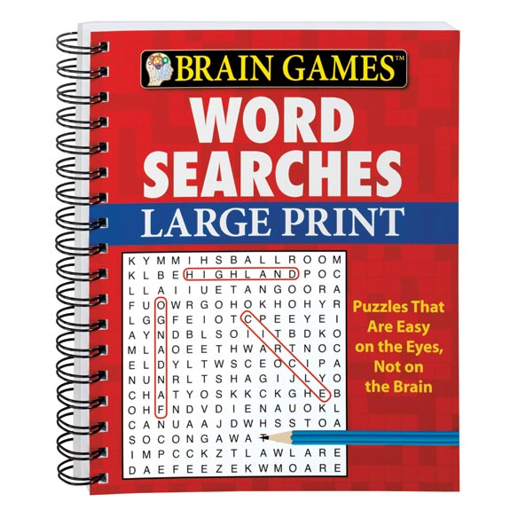 Large Print Word Search Book - View 2