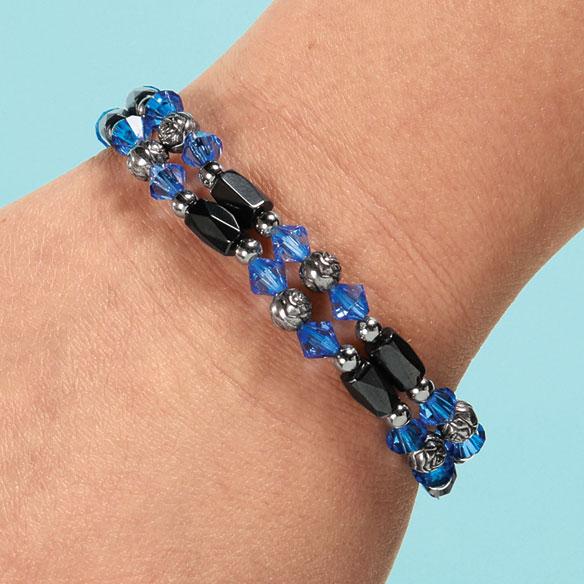 Rose Hematite Bracelets, Set of 2 - View 4