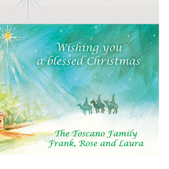 Wise Men Still Seek Him Christmas Card Set of 20 - View 4