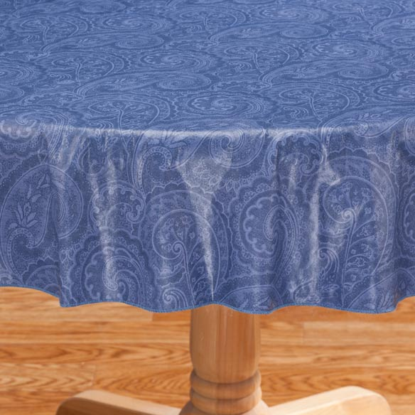 Paisley Vinyl Table Cover - View 5