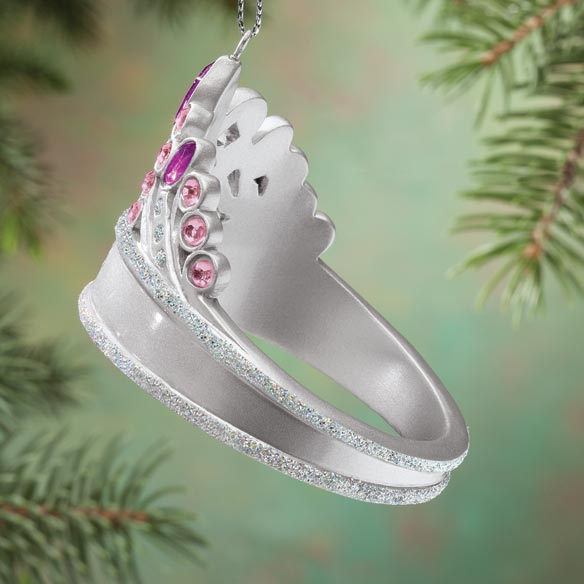 Personalized Princess Tiara Ornament - View 2