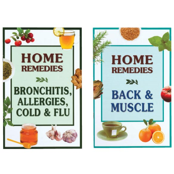 Home Remedy Books, Set of 8 - View 4
