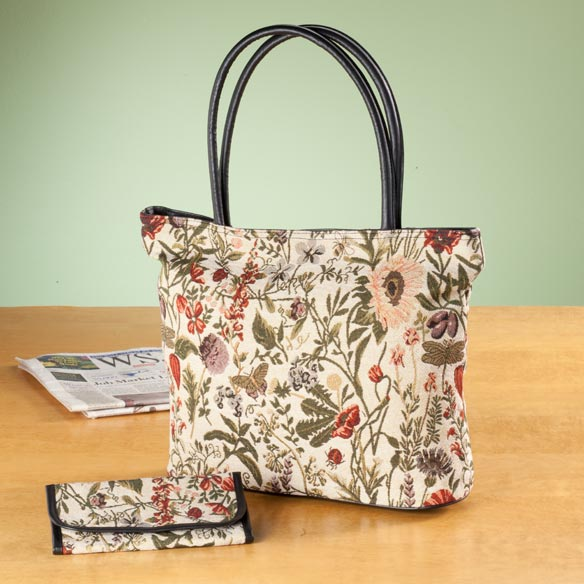 Tapestry Tote and Wallet - View 2