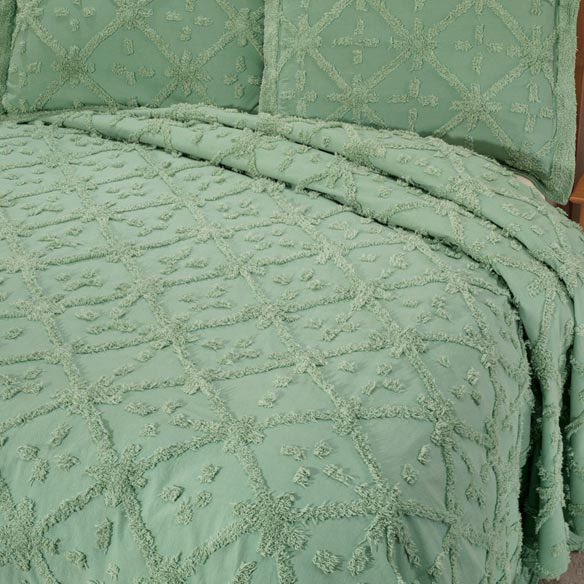 The Anna Chenille Bedding - View 3