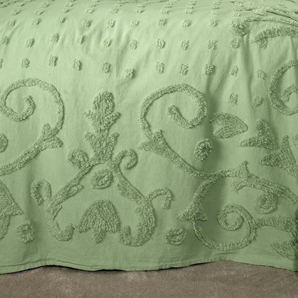 The Elizabeth Chenille Bedding - View 5