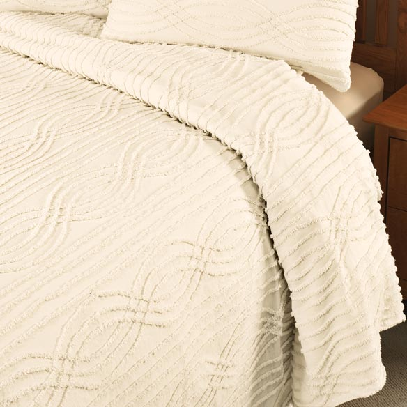 The Hannah Chenille Bedding - View 3