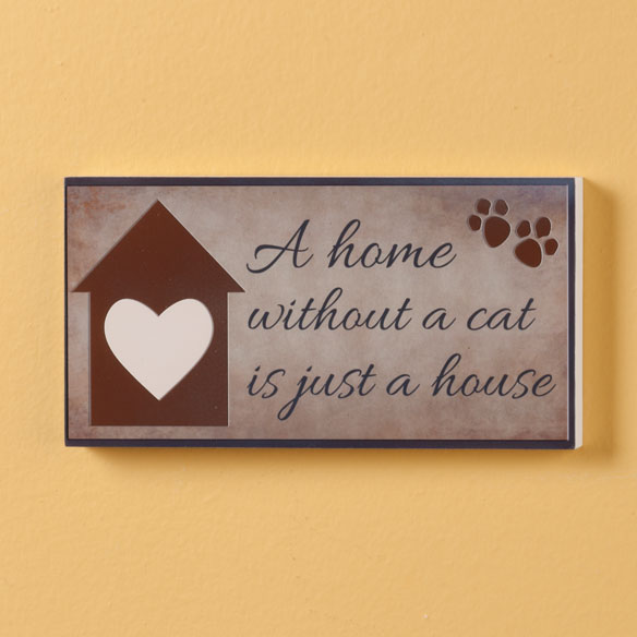 4x8 Pet Wood Wall Plaque  - View 2