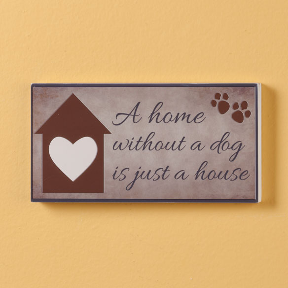 4x8 Pet Wood Wall Plaque  - View 3