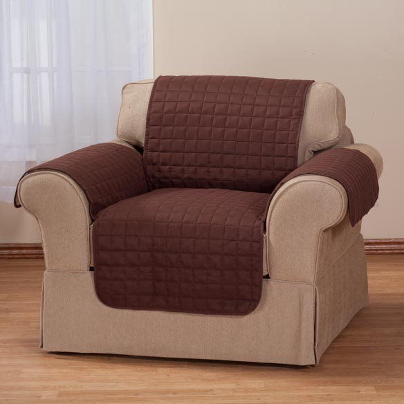 Microfiber Chair Protector by OakRidge Comforts™ - View 3