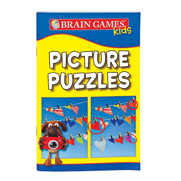 Brain Games™ For Kids-Set of 5 - View 5