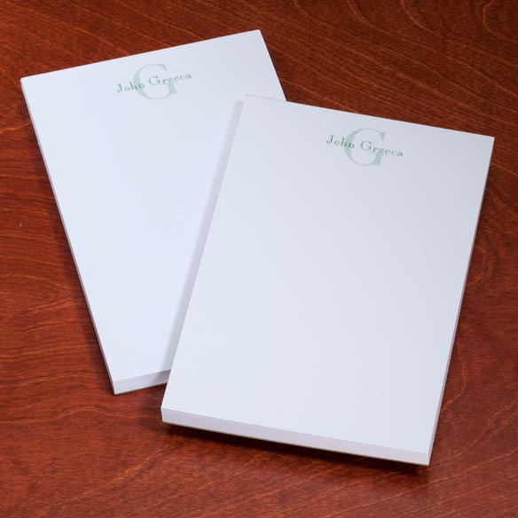 Personalized Block Notepads, Set of 2 - View 3