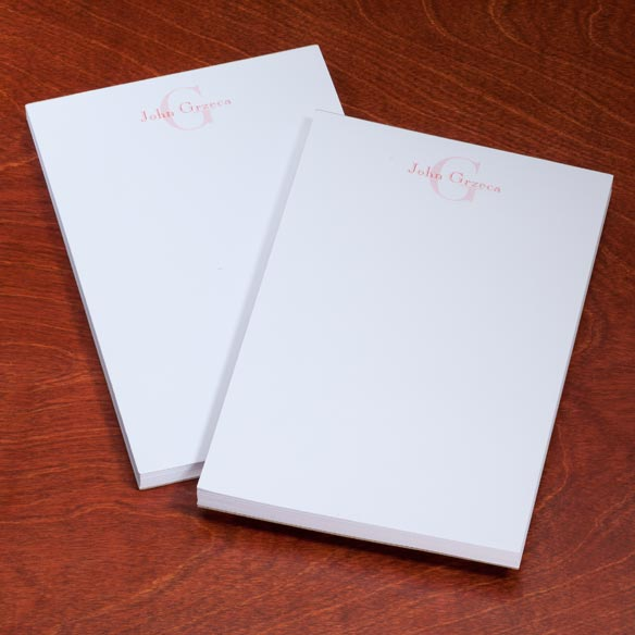 Personalized Block Notepads, Set of 2 - View 5
