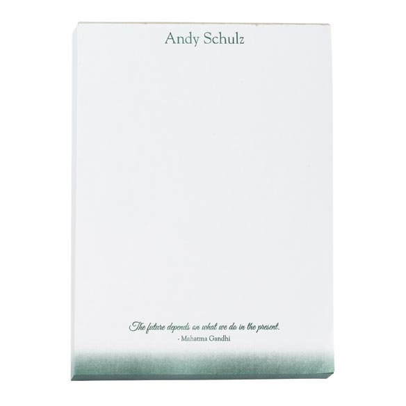 Personalized Inspirational Notepads Set of 4 - View 3