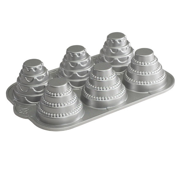 Nordic Ware® Mini Tiered Cakelet Pan - View 2