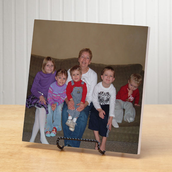 8x8 Photo Wood Wall Plaque - View 2
