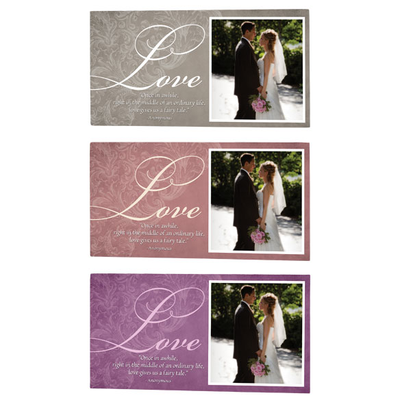 4x8 Love Sentiments Photo Wood Wall Plaque - View 2
