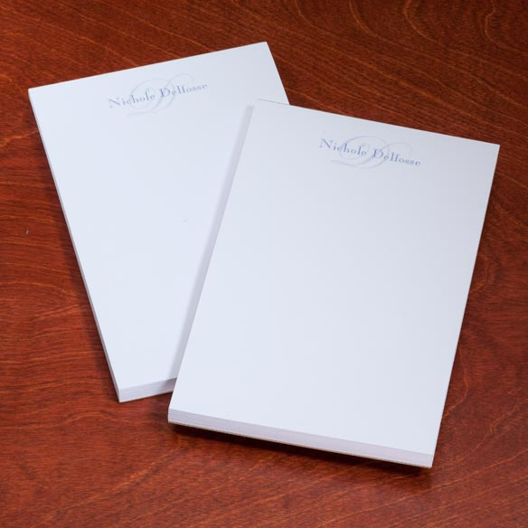 Personalized Script Notepads - Set Of 2 - View 2